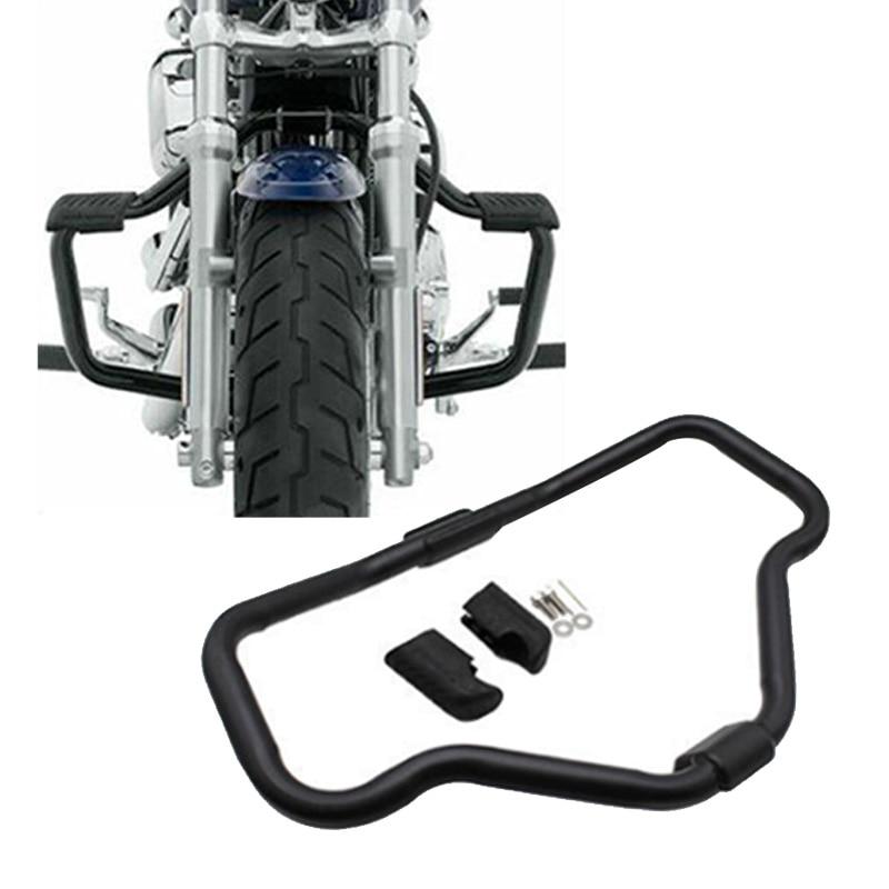 Motocicleta alargar Barra de choque de protección para motor para HD Sportster XL 1200 883 04-19 de hierro 883 09-19 48 XL