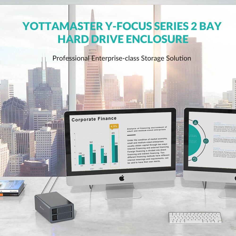 Yottamaster FS2RU3 2 Bay 2.5