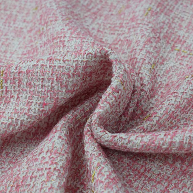 2020 tecido tweed rosa para casaco saia bazin riche getzner ткань tissu africano material de tela telas por metro tissus africain плед