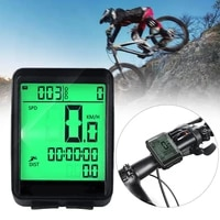 waterproof bicycle computer wireless and wired mtb bike cycling odometer stopwatch speedometer watch led digital rate dropship