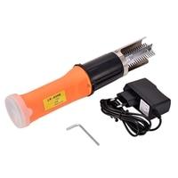 TOP!-Electric Fish Scaler Fishing Scalers Clean Fish Remover Cleaner Descaler Scraper Seafood Tools EU Plug