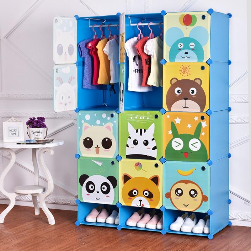 Armario de resina de dibujos animados para niños, armario de resina, guardarropa de bebé, armario de bebé, armario de ropa infantil