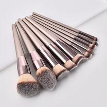 1pc Make Up Brush Kit Comestic Brush Eyelash Eyebrow Brush Portable Powder Foundation Comestic Brush