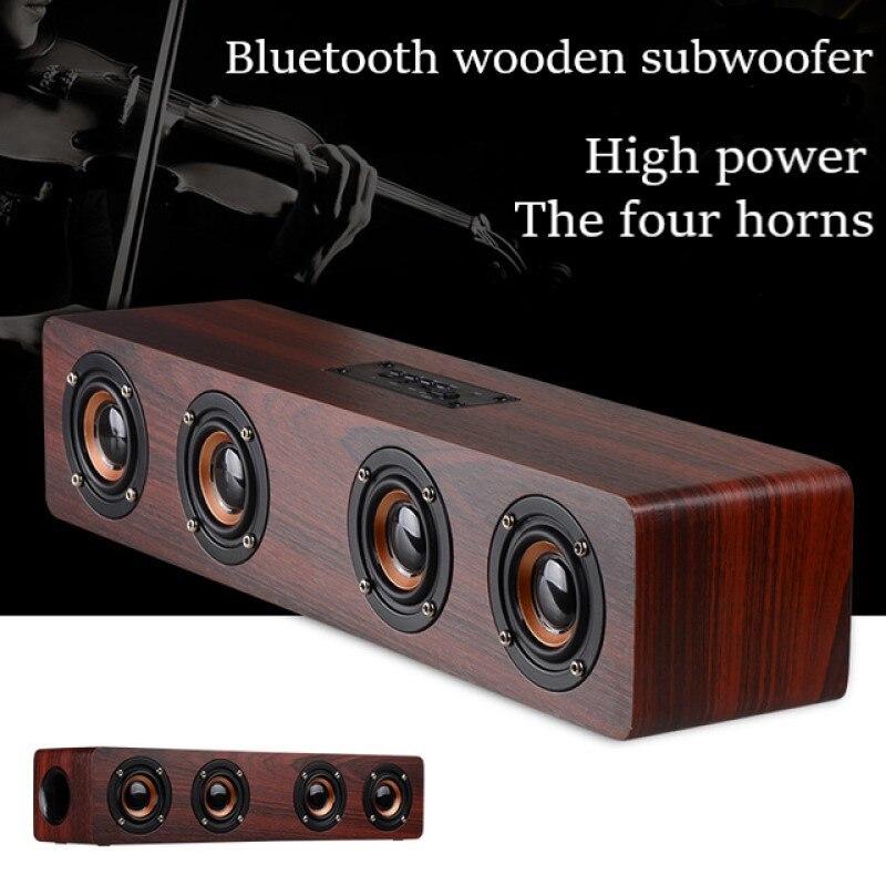 Torlinse 12W Hifi estéreo Bluetooth inalámbrico Subwoofer Altavoz de Audio en casa...