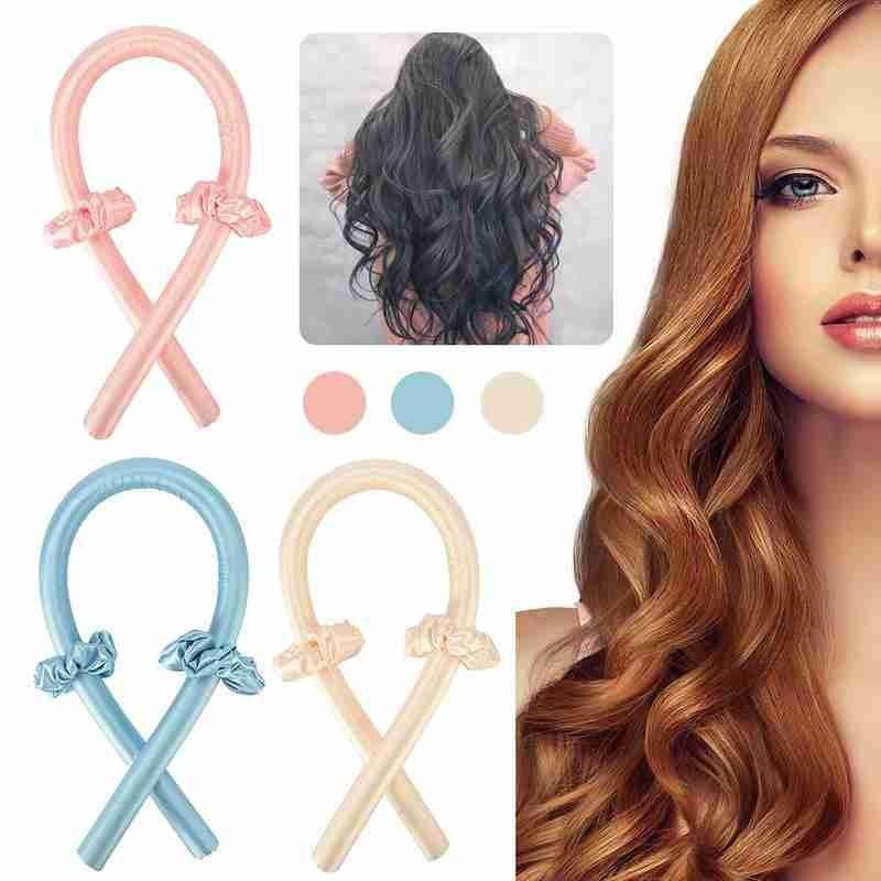Heatless Curling Rod Headband Lazy Curler Silk Curling Ribbon Silk Curling Ribbon Heatless Hair Curl