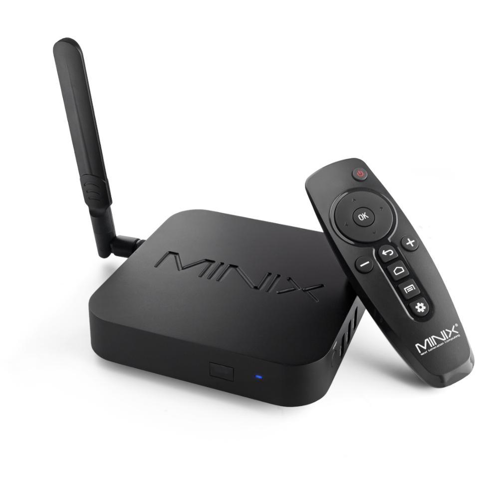 MINIX NEO U22-XJ التلفزيون مربع S922X-J الروبوت 9.0 4GB DDR4 32GB eMMC الذكية التلفزيون مربع دولبي الفيديو الصوت 4K UHD المركز الإعلامي 2.4G/5.0G واي فاي