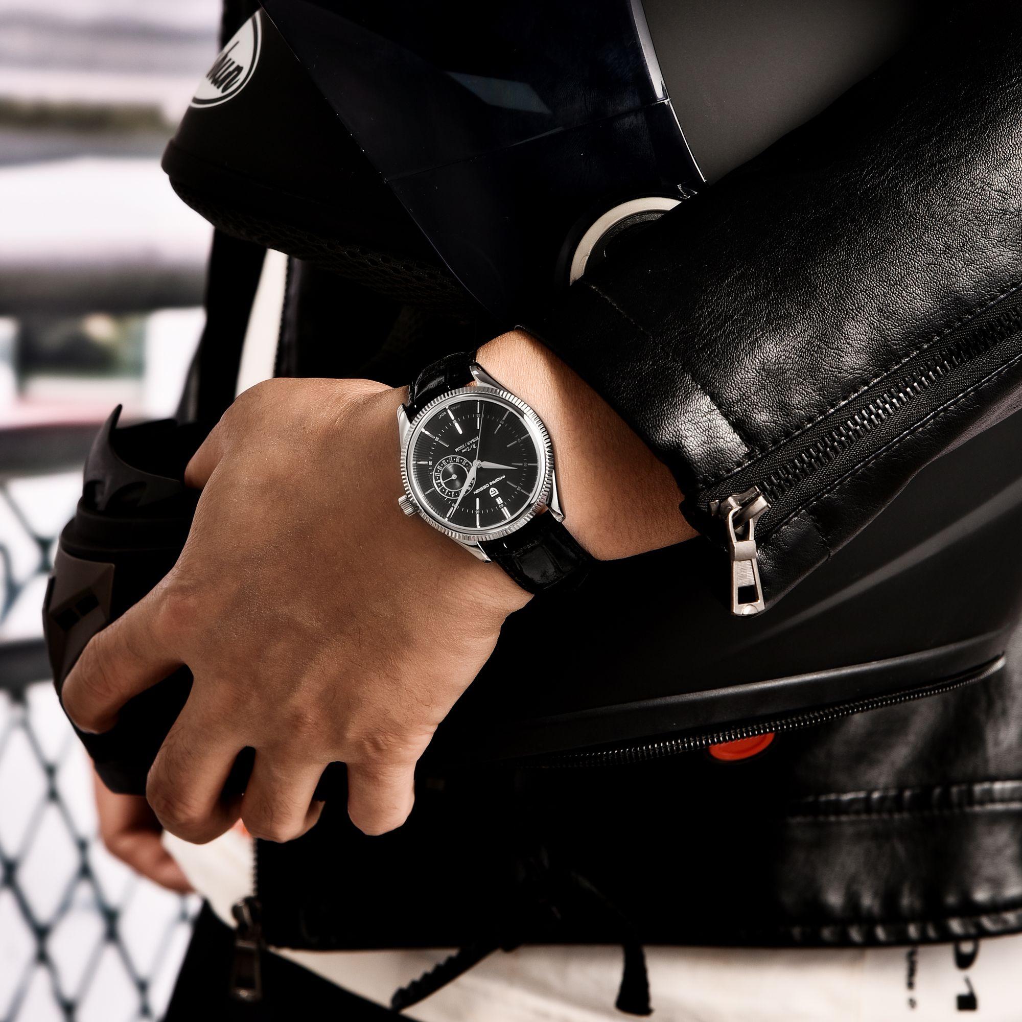 Pagani Design Leather Quartz Watch Sapphire Stainless Steel 200m Waterproof Clock Men's Sports Watch SEIKO VH65 Movement Clock enlarge