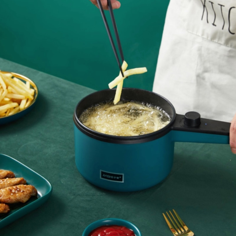 dmwd electric intelligent slow cookers mini timing water stewing soup porridge pots multifunctional ceramic whiteware liner 0 7l Mini Frying Pan Multicooker Kitchen Robot Multifunctional Integrated Small Hot Pot Household Electric Steamer Cooking Pots