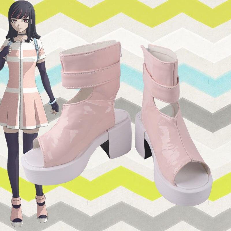 للجنسين أنيمي كوس Akudama محرك تأثيري ازياء أحذية أحذية مخصصة 02