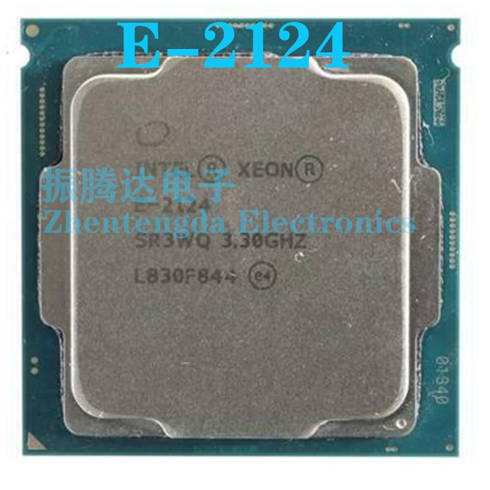 Intel Xeon E-2124 CPU 3.3GHz 8MB 4 Core 4 Thread LGA 1151 E-2124 CPU Processor