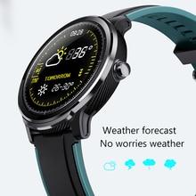 LIGE 2020 smart watch full touch screen IP68 waterproof heart rate blood pressure monitor Sport smartwatch information reminder
