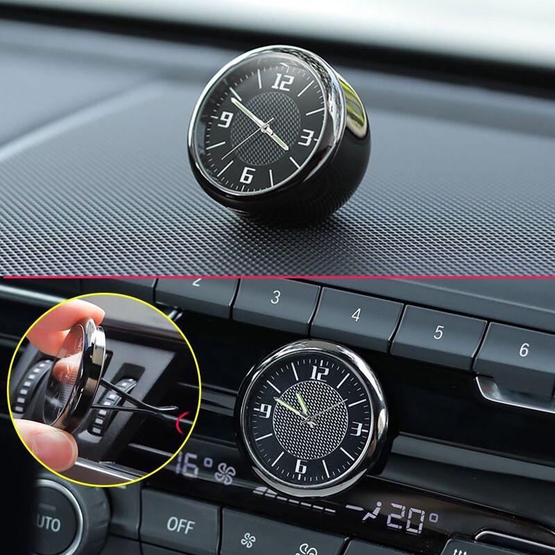 [해외] 자동차 대시 보드 장식 시계 에어 벤트 쿼츠 시계, 지프 체로키 JK JL TJ 랭글러 레니게이드 컴퍼스 그랜드 RBG