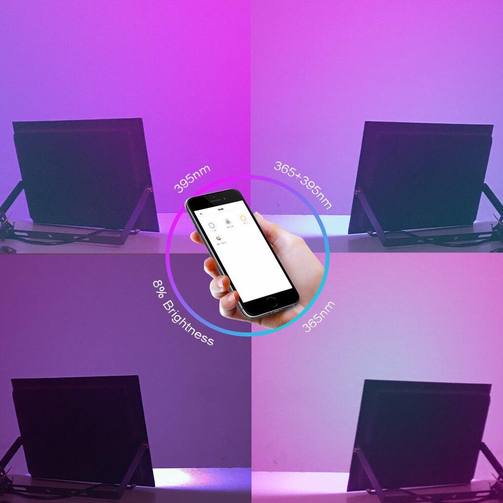App Remote Led UV GEL Curing Lamp Voice Waterproof Ultraviolet Light Cure Oil Printing Machine Ink Screen 3D Printer Fixture enlarge