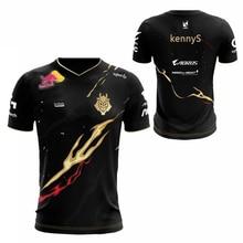 LOL League 2019 S9 Season LEC G2 Esports Team Uniform Jersey Wunder Jankos Caps PerkZ Mikyx T-Shirt CSGO Game World Limited
