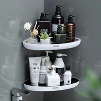 Etagere de salle de bain triangulaire  organisateur de rangement pour Lotions  organisateur mural de menage pour accessoires de salle de bain