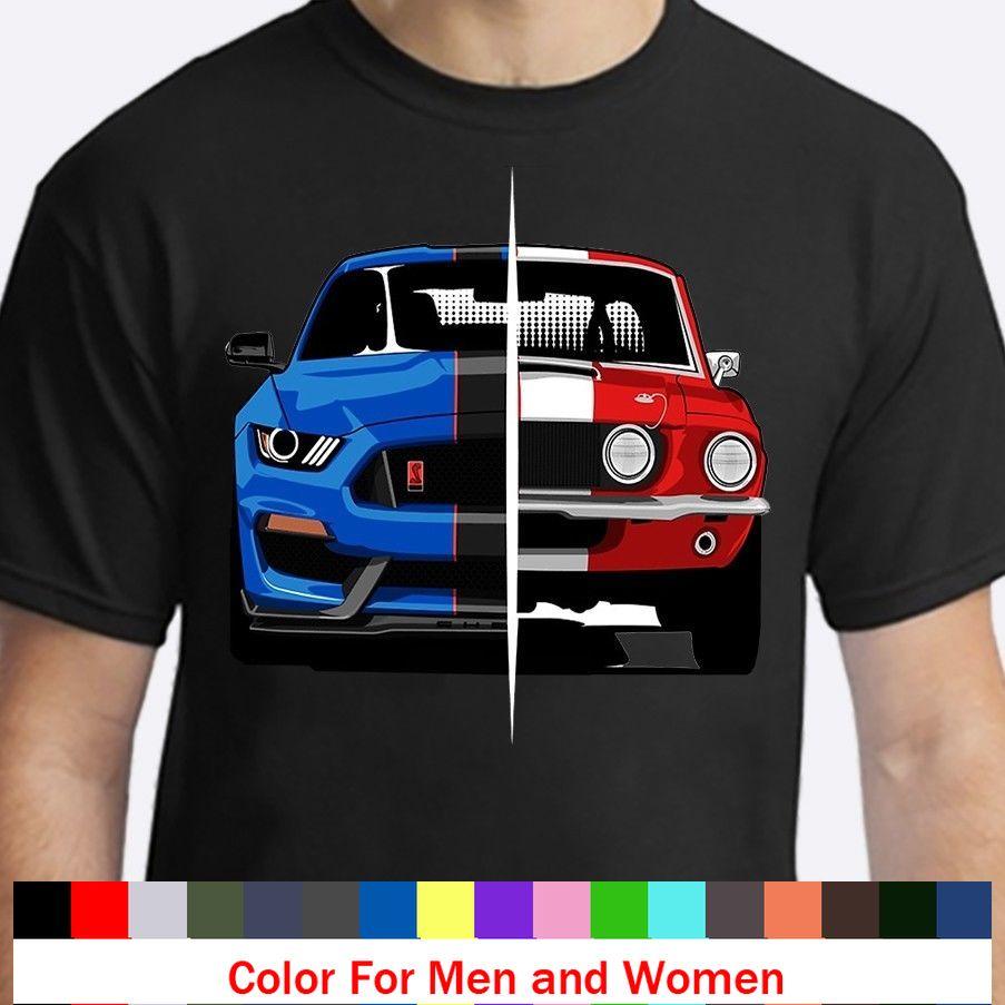 Novedosa camiseta de coche Negra de músculo clásico americano para hombre, divertidas camisetas de Banda Clásica a la moda