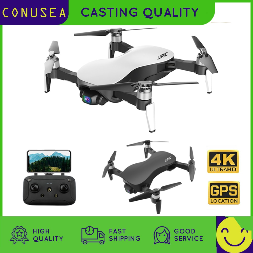 JJRC X12 RC drone 4k Profesional Quadcopter With Camera 3 Axis Gimbal Anti-shake Camera HD GPS Drones 5G WIFI FPV helicopters