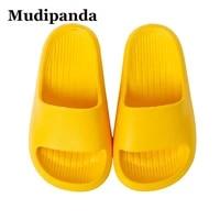 childs childrens indoor slippers summer girls antiskid kids soft bottom household baby bath cool slippers