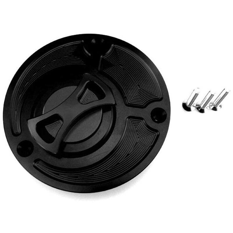 Aluminum Alloy Billet Keyless Twist Off Gas Fuel Tank Cap Cover for Yamaha TDM 850 91-99 / TDM 900 02-14 / BT 1100 / YZF R125 08