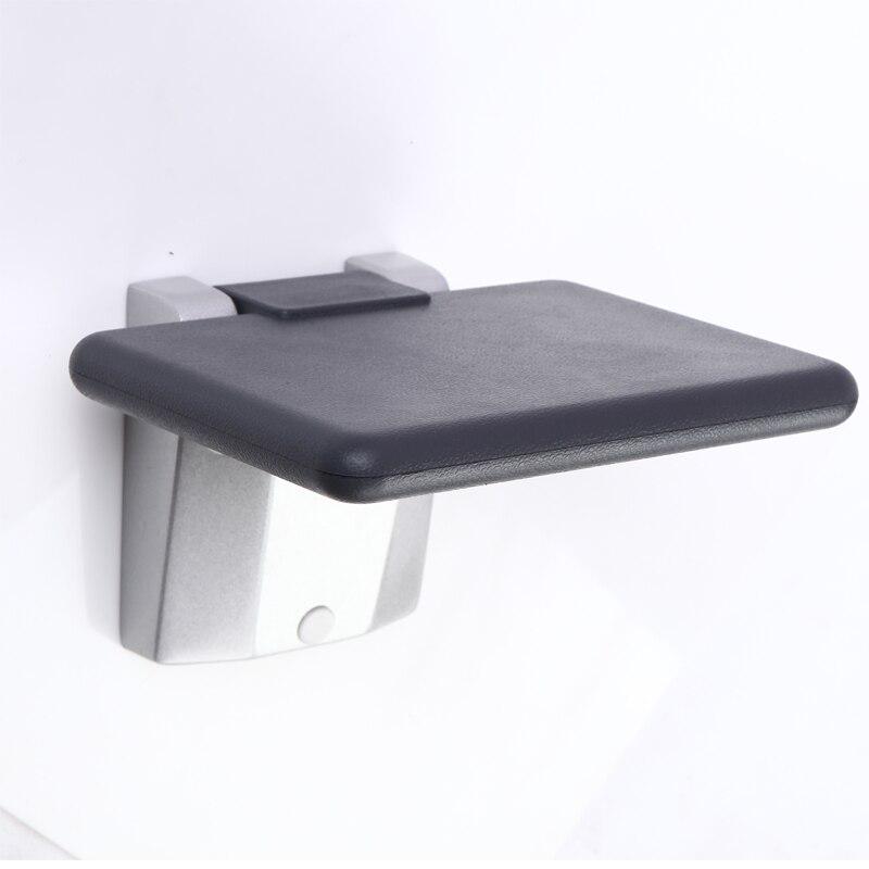 Silla plegable de ducha de baño mini porche pasillo silla para la pared nuevo para el hogar taburete de Ducha