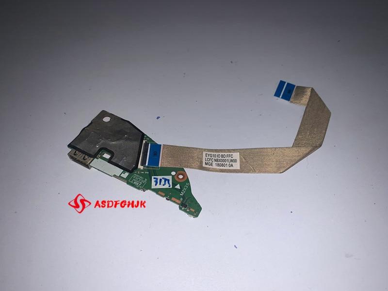 EYG11 EYG21 NS-B781 لينوفو اليوغا 530-14 محمول USB SD السلطة التبديل مجلس مع كابل NBX0001LW00 100% اختبار ok