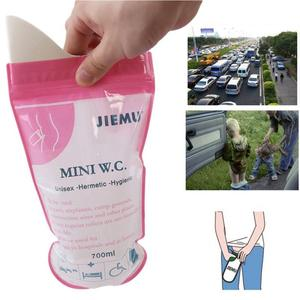Disposable Urinal Wee Pee Urine Bags Camping Travel Driving Emergency Outdoor qs