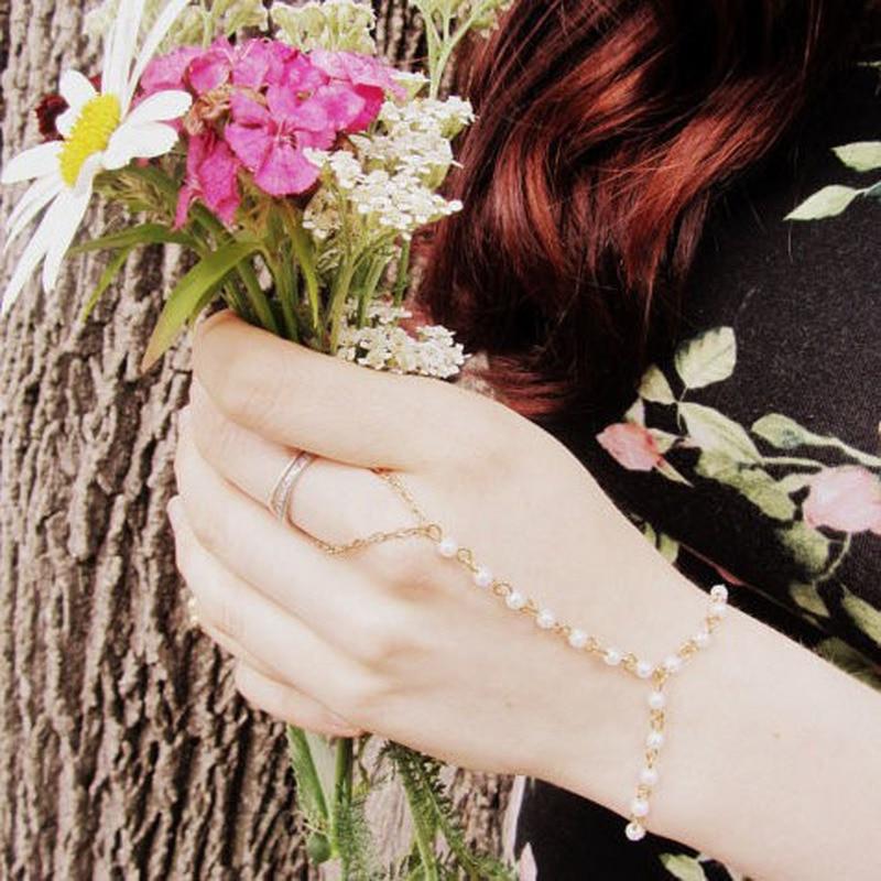 Pulseras encantadoras para mujer, estilo bohemio pulsera de perlas, cuentas, mitones, pulsera,...
