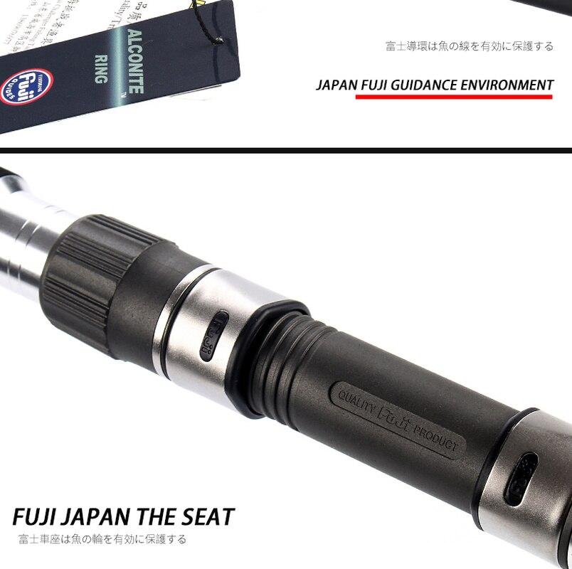 Japan Tackle Fuji GT Rod Golden Gun Boat Lure Jigging Rods Long Throwing Fishing Pole Offshore Angling Squid Carp Portable Rock enlarge
