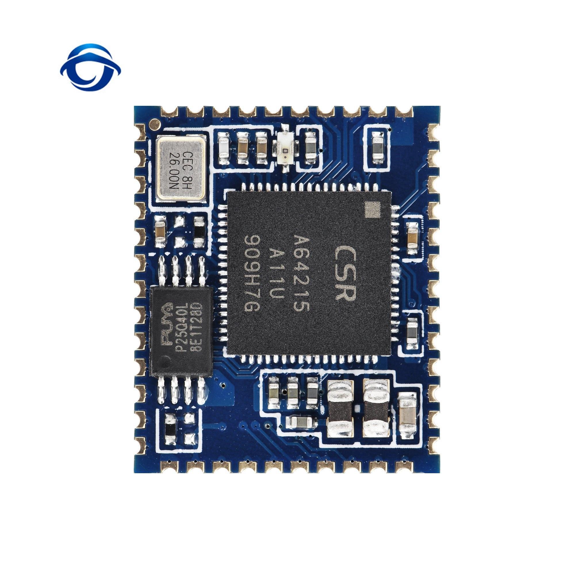 CSRA64215-B bluetooth 4.2 módulo de áudio estéreo suporte aptx ll módulo i2s saída tws