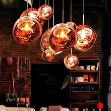 Lámpara colgante de Lava para sala de estar, luces LED de PVC nórdicas, para LOFT, dormitorio, Bar, Luminarias