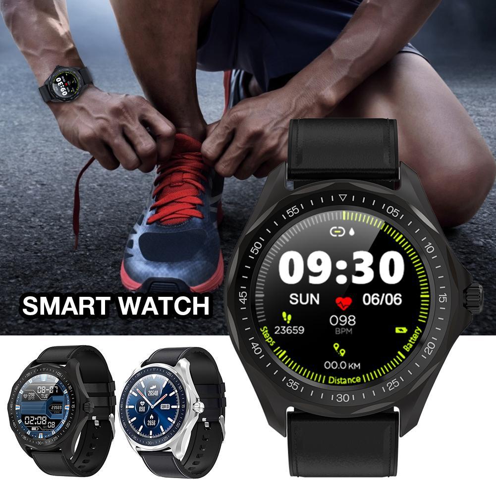 Para SENBONO S09 reloj inteligente para hombres con pantalla táctil redonda IP68 a prueba de agua recordatorio de llamadas reloj inteligente