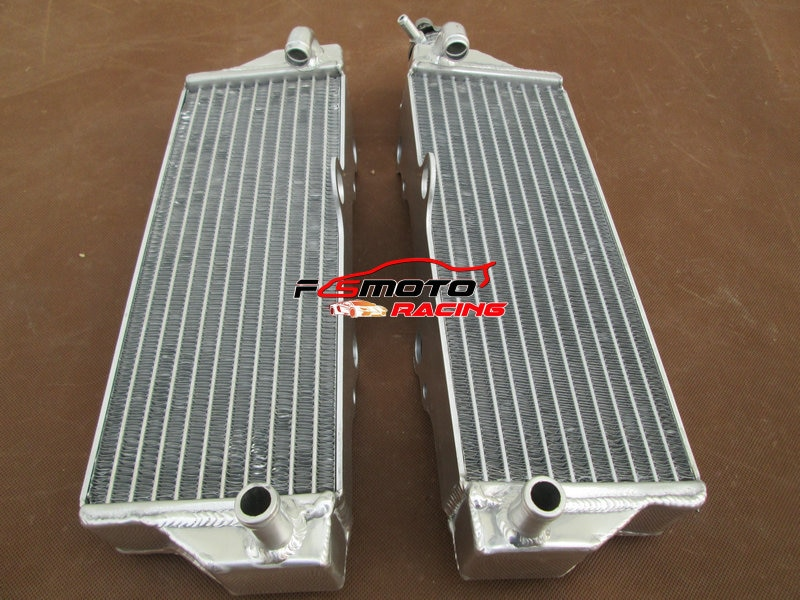 L & R Radiador De Alumínio 2000-2010 Para Husqvarna WR/CR 125/250/300/360 01 02 03 04 05 09 08 07 06