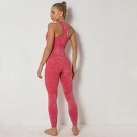 new womens underwear set sports bra set seamless plus size fitness clothing summer yoga clothing women