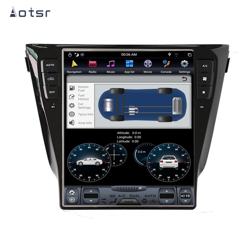 AOTSR Tesla 1 Din Android 8 Radio de Coche para Nissan X-TRAIL...