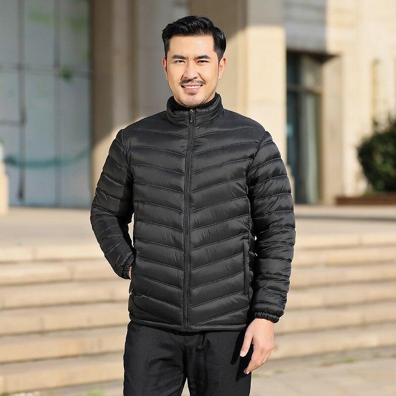 Новинка Осень-зима 2021, Мужская стеганая куртка, стеганая куртка, толстая стеганая куртка большого размера, повседневное пальто, куртка