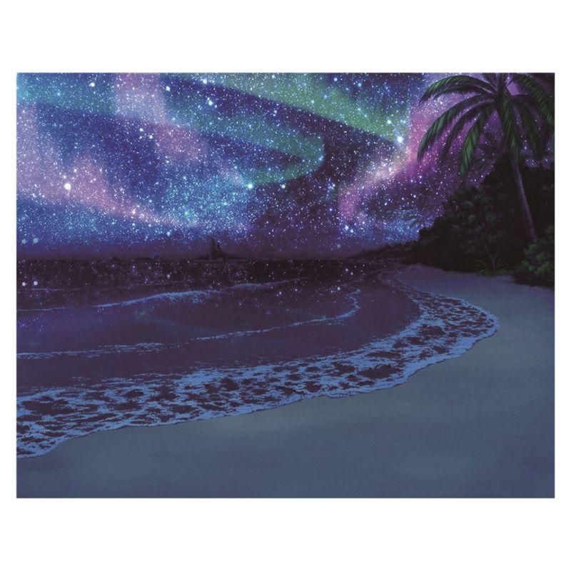 Shore at night 5D Round Diamond Painting Cross Stitch Diamond Embroidery kits 95AA