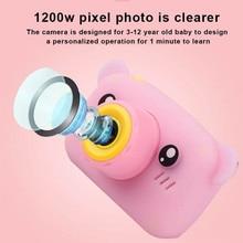 Mini Bear Children Camera For Kids Instant Camera Digital Video Camera For Children Photo Camera Toy