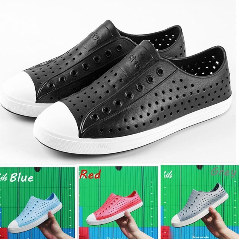 Туфли для родителей и детей Native Jefferson, дышащая пляжная обувь с перфорацией, легкая повседневная обувь унисекс