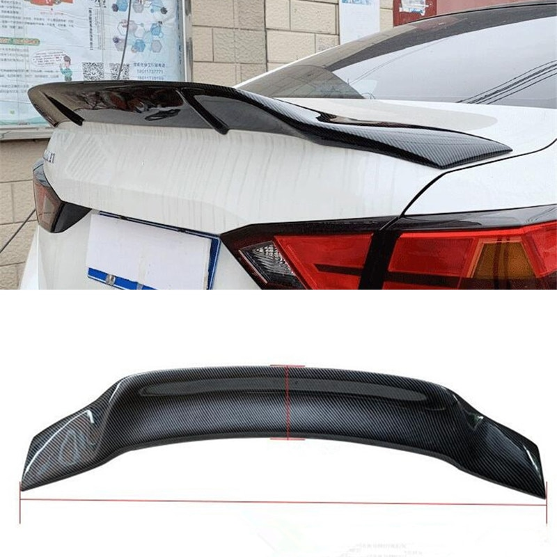 CEYUSOT FOR REAL CARBON FIBER GT SPOILER WING NEW NISSAN ALTIMA TEANA CAR TRUNK REAR LIP TAIL FIN SP