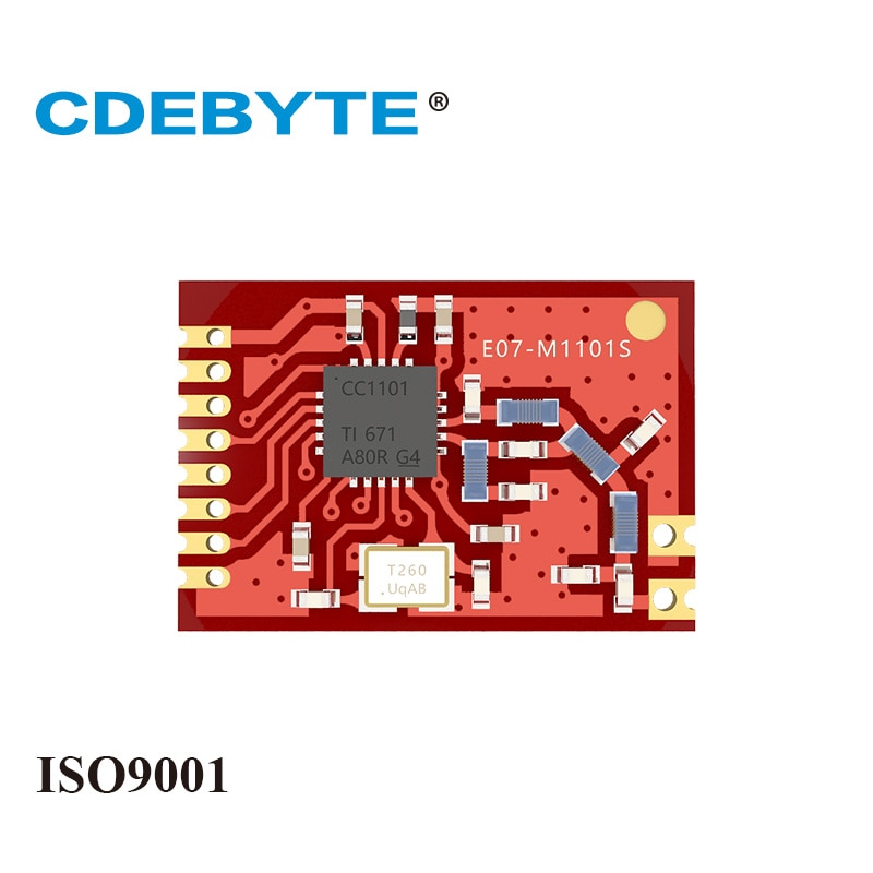 q118 rak439 low power tiny size high speed spi wifi module integrate tcp ip stack wireless iot module with external antenna E07-M1101S CC1101 433MHz 10dBm SPI SMD IoT Uhf Wireless Transceiver Module Stamp Hole Antenna CDEBYTE