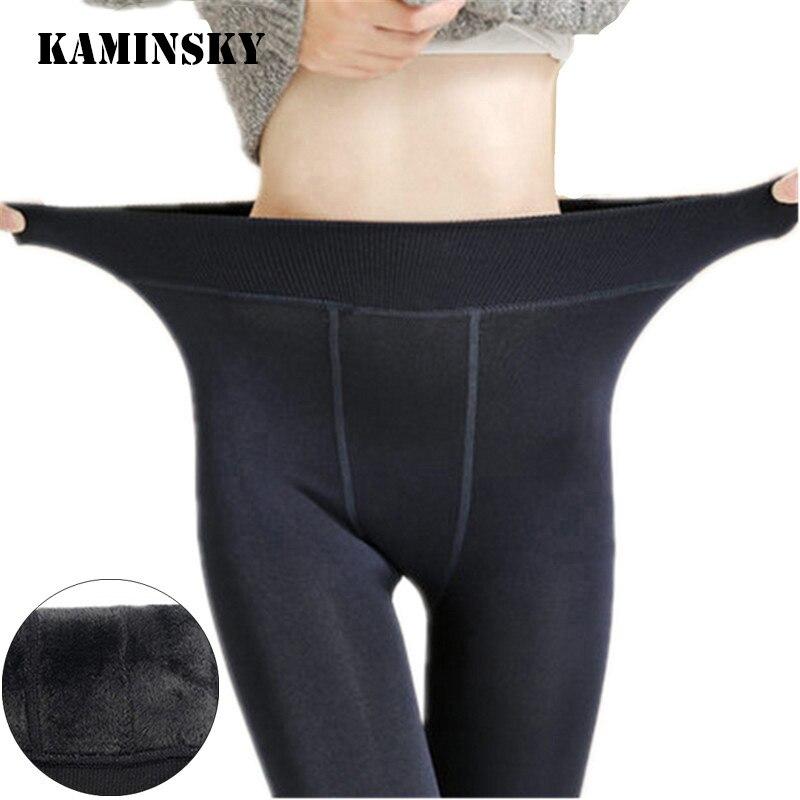 Kaminsky, колготки, бесшовные чулки для ног, красивые, Осень-зима, теплые, бархатные, длиной до щиколотки, платье, сексуальные женские колготки для ног