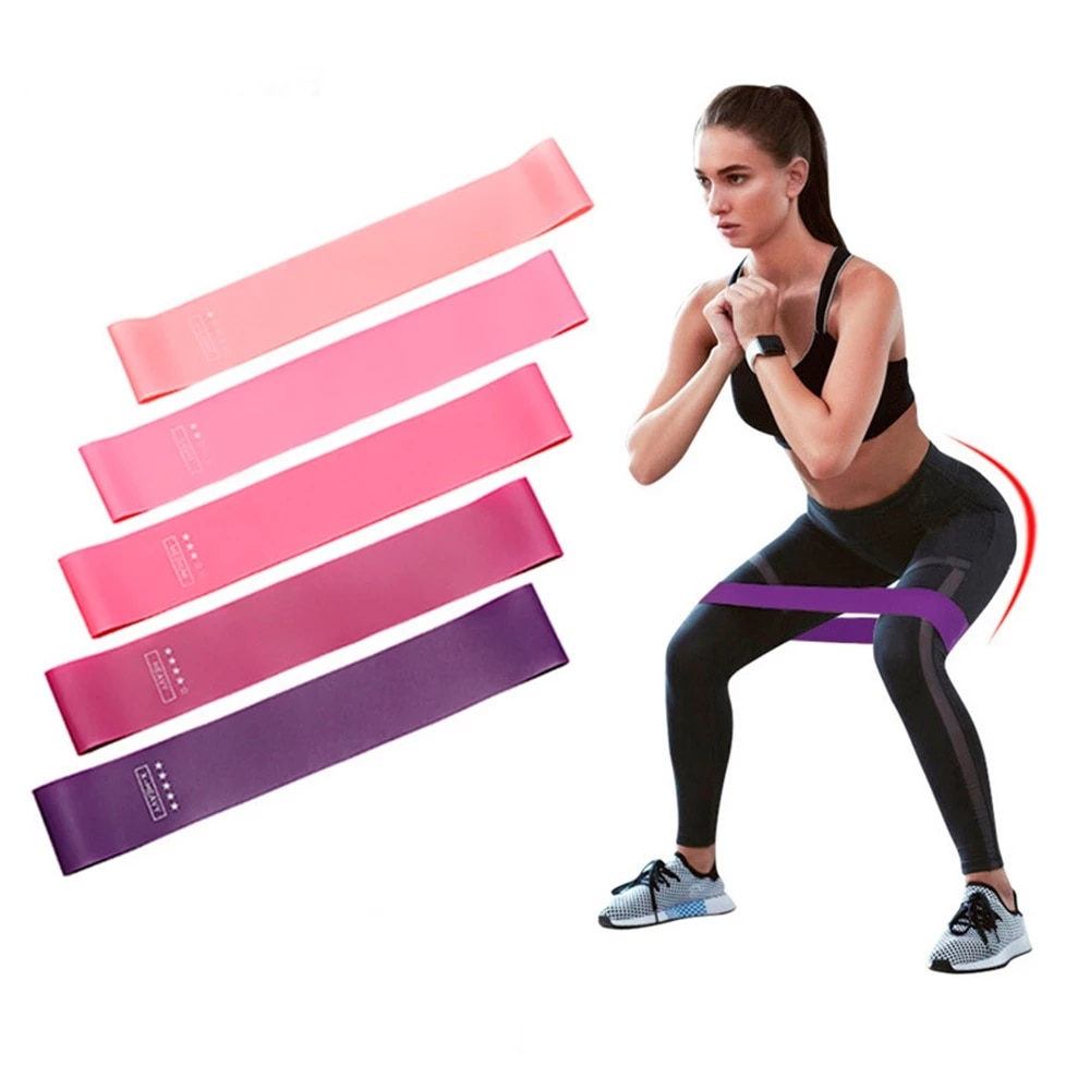 Yoga Resistance Bands Pull Band Set Gym Fitness Equipment Pilates Sport Training Workout Elastic Bands Pull Rope Stretch Pull Up