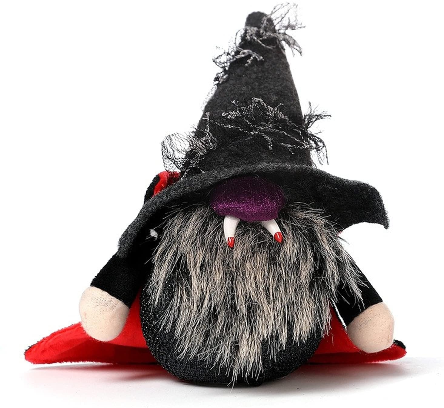 Halloween Rudolph Gnome Doll With Lights Norway Nisse Ornament Vampire Doll Children Gift Holiday Pa
