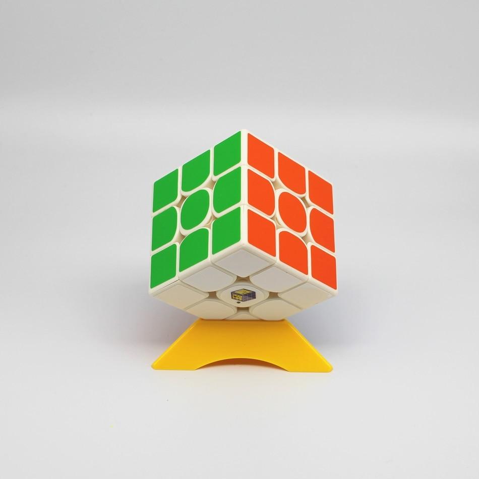 Envío rápido Yuxin little magic 3x3x3 Cubo magico rompecabezas Cubo mágico sin etiqueta/Negro 3x3 cubos de velocidad 3x3 Cubo mágico juguetes educativos yuxin pequeña magia 3x3x3 cubo magico