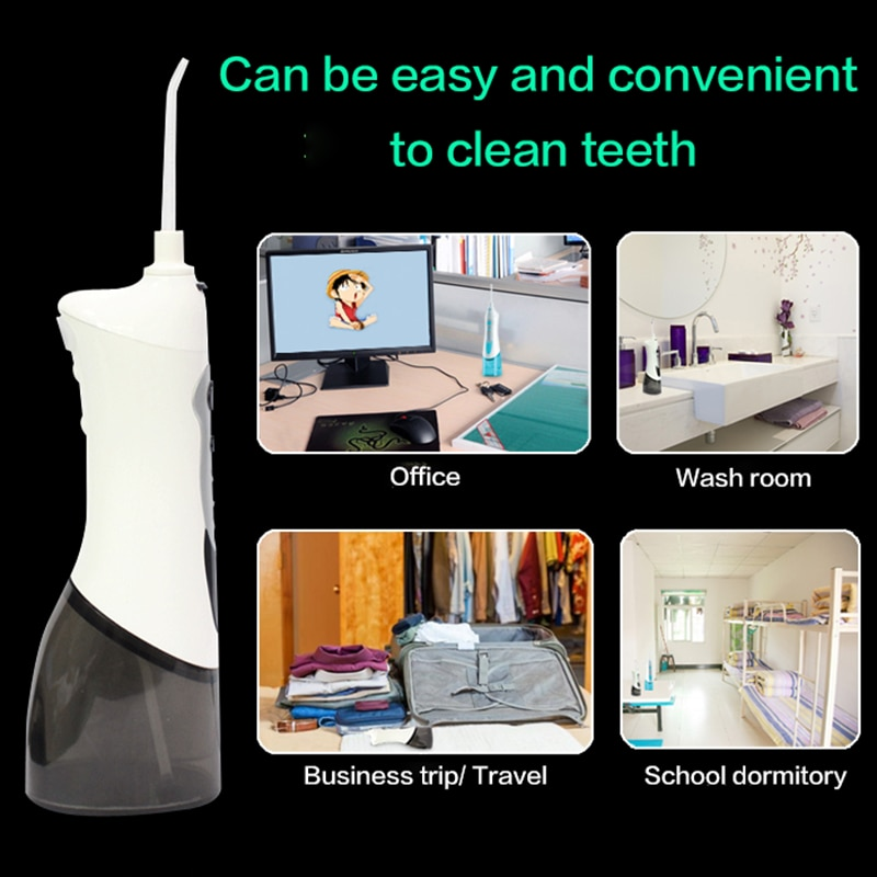 RLI501A Oral irrigator Powerful high-voltage pulse electric oral irrigator Household portable dental floss punch for easy clean enlarge