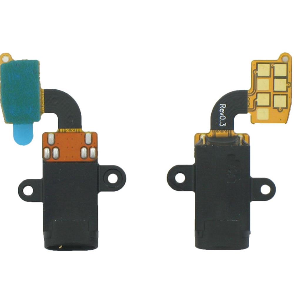 5pcs/lot Headphone Jack Audio Flex Cable For Samsung Galaxy S5 SM-G900 Galaxy S5 Neo SM-G901 3.5MM Earphone Repair Parts