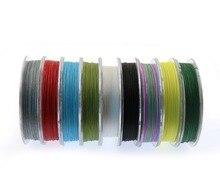 Super ligne de pêche pe 100M 4x tresse de pêche forte ligne tressée à vendre meilleur cordon de pêche en vente corde de fil de pêche 6-100LBS