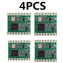 4 pièces RFM69HC RFM69HCW module Lora FSK Module Émetteur-Récepteur Sans Fil SX1231 433 915M 16*16mm