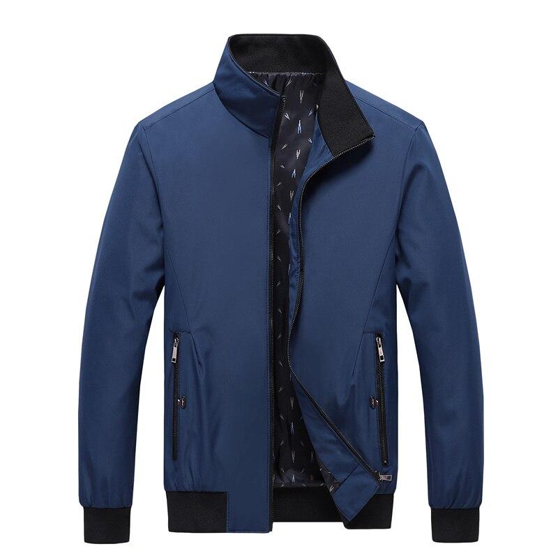 Men's Casual Bomber Jacket Men 2021 New Trend Hoodie Baseball Collar Streetwear Coat Male Fashion Win Spring Jackets Men