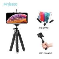Мини-штатив PYNSSEU с губкой, гибкий Трипод-Осьминог для камеры Gopro, настольный Трипод для iPhone, Samsung, смартфона с зажимом